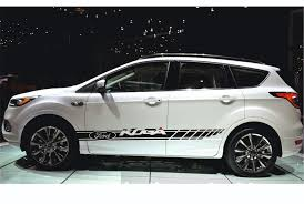 Ford Kuga 2x Racing Stripes Graphics Vinyl Body Decal Sticker Logo High Quality Sv Carstyle Volkswagenroutan Ford Kuga Volkswagen Routan Ford