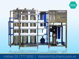 Dây chuyền lọc nước RO công nghiệp 3000 L/h
