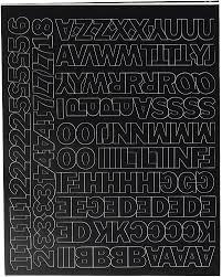 Amazon Com Duro Decal Permanent Adhesive Vinyl Letters Numbers 3 4 Gothic Black