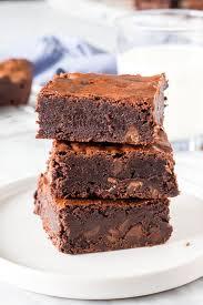 triple chocolate brownies just so tasty