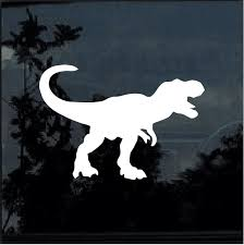 Tyrannosaurus Rex Window Decal Sticker Custom Sticker Shop