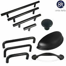 matte black kitchen cabinet handles