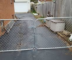 Dog Proof Chain Link Fence Double Gate Latch 4 Steps Instructables