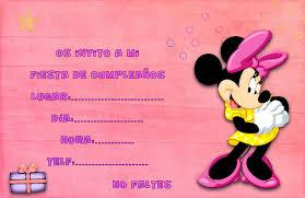 Invitaciones De Cumpleanos De Minnie Para Descargar Al Celular 1