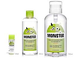 etude house monster cleansing water