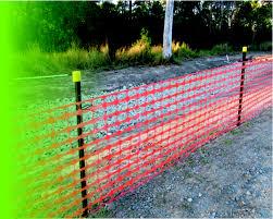 Plastic Safety Fence 50m X 1m Roll Scafftex