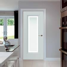 belton classic white door with obscure