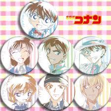 Nhật Bản Anime Thám Tử Lừng Danh Conan Amuro Cosplay Bedge Hoạt Hình Bộ Sưu  Tập Lưng Phù Hiệu Túi Nút Thổ Cẩm Chân Tặng|