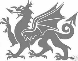 Welsh Dragon Rear Window Etch Vinyl Sticker Decal Archives Midweek Com