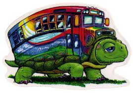Turtle Bus Window Sticker Decal Peace Resource Project
