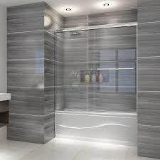 bypass sliding bathtub doors
