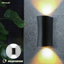 waterproof outdoor wall lights
