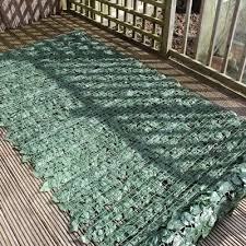Privacy Screening Artificial Ivy Leaf Hedge Panels On A Roll Privacy Screening 3m Long