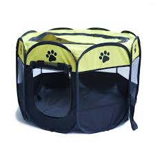 Portable Collapsible Octagonal Pet Tent Dog House Outdoor Breathable Tent Kennel Fence For Large Dogs Walmart Canada