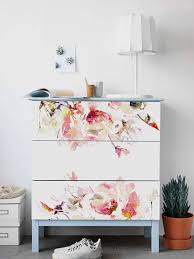 Decals For Malm Dresser Ikea Spring Floral Stickers Pack Of Etsy