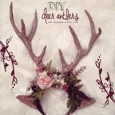 weekend diy deer antlers the