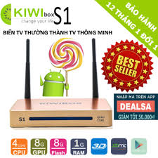 Android Tivi Box Kiwi S1 4K Ultra HD RAM 1GB - Đầu phát Media [Hà ...