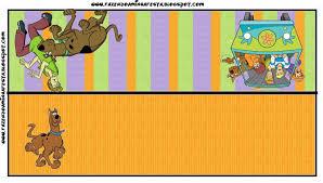 Imprimibles De Scooby Doo 5 Ideas Y Material Gratis Para