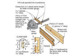 Build A Wear Proof Miter Gauge Fence