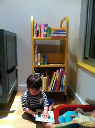 Kids Room Design Solution Rolling Library Book Carts New York City Family