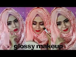 glowy eyes makeup tutorial hijab tutorial