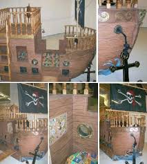 Pirate Ship Bed For Your Pro Active Kids Pirate Ship Bed Cool Kids Bedrooms Kids Room Inspiration