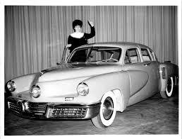 "Preston Tucker was a car salesman shut down by ""vindictive bureaucrats,""  author says | Michigan Radio"