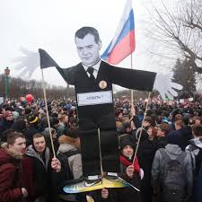 Dmitry Medvedev: the whipping boy for Russia's discontented | World news |  The Guardian
