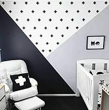 Amazon Com Black Plus Sign 125pcs Removable Wall Decals For Kids Room Decoration Vinyl Decor By Bugybagy Black Plus Sign 2 Inch Baby