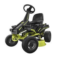 30 Electric Riding Mower 50 Ah Ryobi Tools
