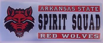 Textbook Brokers Jonesboro Red Wolves Spirit Squad Auto Decal