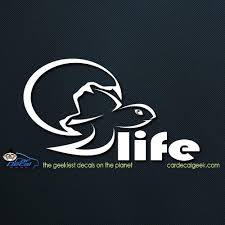 Baby Sea Turtle Life Car Decal Graphic Window Stickers