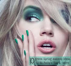 spring makeup ideas st patrick s day