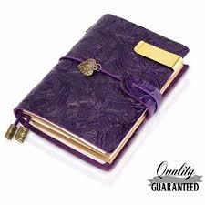 genuine leather journal vintage