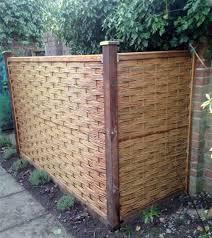 Mgp 6 Ft H X 6 Ft W Braided Wood Fencing Wayfair