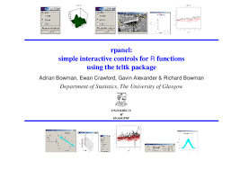 PDF) Rpanel: Simple Interactive Controls for R | Ewan Crawford -  Academia.edu