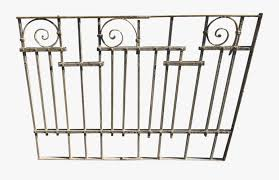 Antique Victorian Iron Gate Window Garden Fence Architectural Fence Panels Free Transparent Clipart Clipartkey