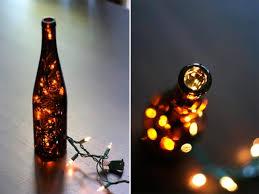 wine bottle light make