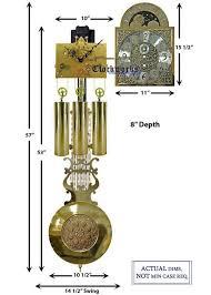 kieninger grandfather clock kit gfkit03