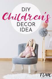Diy Children S Room Decor Idea Personalized Name Banner