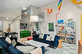 Living With Kids Treehouse Tour Design Mom Reading Loft Family Room