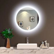 bathroom mirror with led backlight