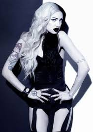 Porcelain Black... Love | Porcelain black, Metal girl, Goth girls