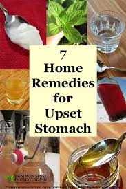 upset stomach to soothe indigestion