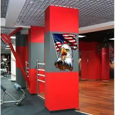 Shop Usa Flag Bald Eagle Decal Usa Flag Wall Decal Us Flag Sticker Overstock 32299390