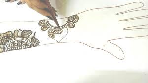 mehndi ki design drawing