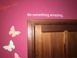 Do Something Amazing Vinyl Wall Sticker Quotes Positive Saying Diy Wall Decals For Home Decoration Wall Decals Vinyl Wall Stickerswall Sticker Aliexpress