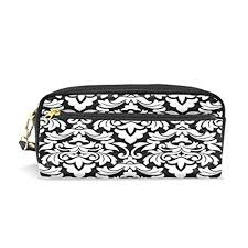 pen pencil case pouch case pu leather