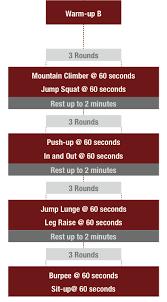 free 6 week bodyweight training plan