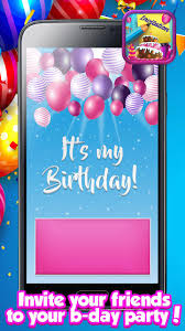 Creador De Tarjetas De Invitacion De Cumpleanos For Android Apk